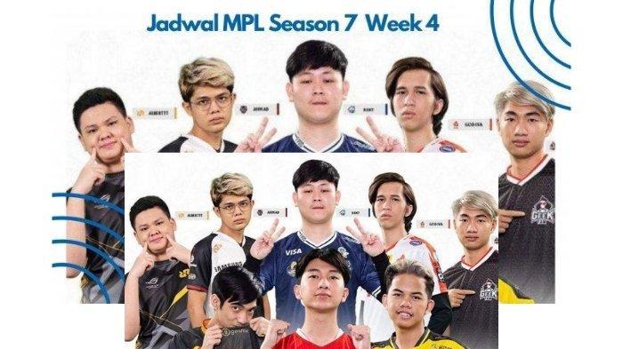 Jadwal MPL Season 7 Week 4, Jumat 19 Maret 2021: Onic vs Bigetron Alpha, Geek Fam Tantang Aura