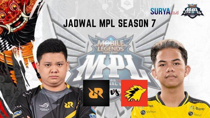 Jadwal MPL Season 7 Minggu 28 Maret 2021: Royal Derby RRQ Hoshi vs Onic, EVOS Legends Lawan Aura