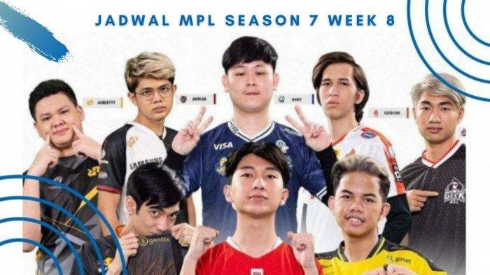 Jadwal MPL Season 7 Week 8: El Clasico EVOS Legends vs RRQ Hoshi Bakal Jadi Penentu Upper Bracket