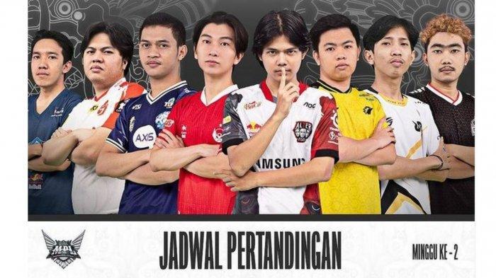 Jadwal MPL Season 8 Week 2: The Royal Derby Onic vs RRQ Hoshi, Alberttt Cs Masih Belum Stabil