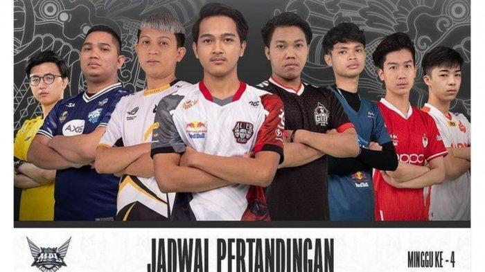 Jadwal MPL Season 8 Week 4 Hari Ini, Sabtu 4 September: EVOS Legends vs AE, AURA Tantang RRQ Hoshi