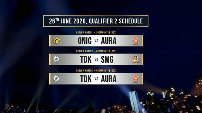 Jadwal MPL Invitational 4 Nation Cup Minggu Kedua: Onic Bakal Pertaruhkan Tiket Playoff Lawan Aura