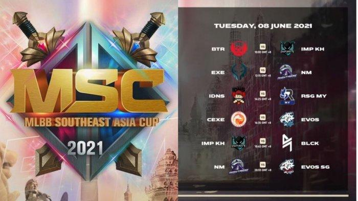 Jadwal MSC 2021 Hari Kedua, Selasa 8 Juni: BTR Alpha Main Jam 10.00 WIB, EVOS Legends vs Cyber Exe
