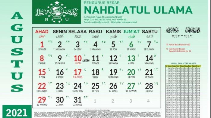 Jadwal Puasa Sunnah Agustus 2021: Puasa Senin Kamis dan Qadha Ramadan