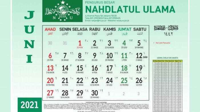 Jadwal Puasa Sunnah Juni 2021