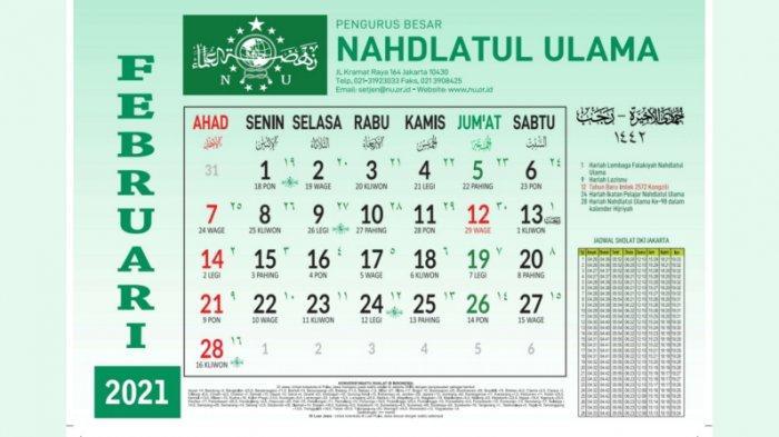 1 Rajab 1442 Hijriyah Jatuh 13 Februari 2021, Berikut ...
