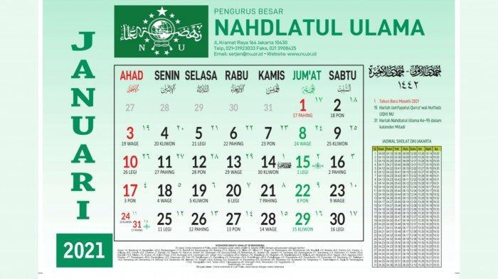 Jadwal Puasa Ayyamul Bidh Januari 2021