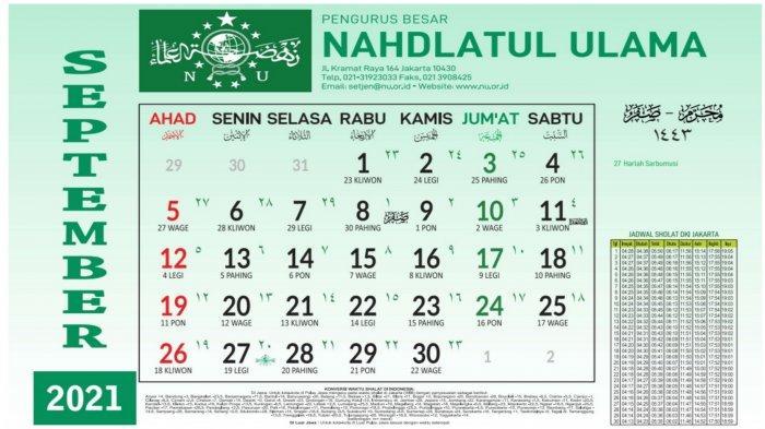Jadwal Puasa Sunnah Sepember 2021: Puasa Senin Kamis dan Ayyamul Bidh di Bulan Safar 1443 H