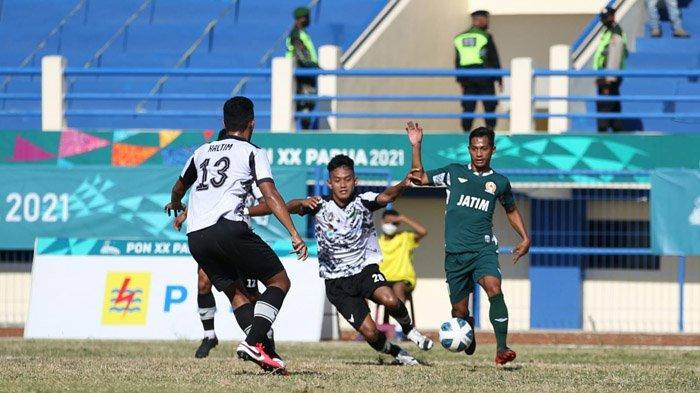 Jadwal Sepak Bola PON XX Papua 2021 - Jatim Kejar Menang Supaya Juara Grup saat Hadapi Jabar
