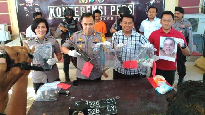 Polres Mojokerto Tembak MatiSpesialis Pencuri Mobil, saat Ditangkap Melawan Polisi Pakai Senpi