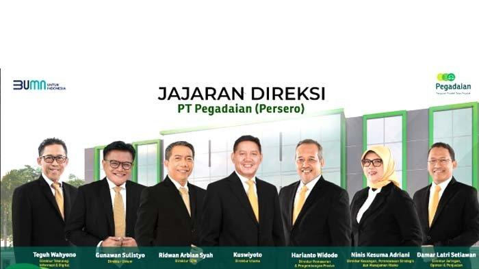 Jajaran Direksi Baru PT Pegadaian (Persero): Ridwan Arbian Syah Jabat Direktur SDM