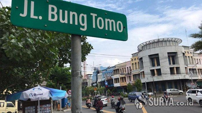 Pemkot Surabaya Disurati Pihak Keluarga, Nama Jalan Bung Tomo Batal Dipindahkan ke JLLB