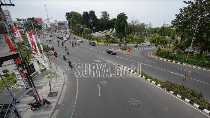 Kapolda-Wakapolda Jatim Pantau dan Cek Pos Pengamanan di Malam Takbiran Surabaya-Sidoarjo
