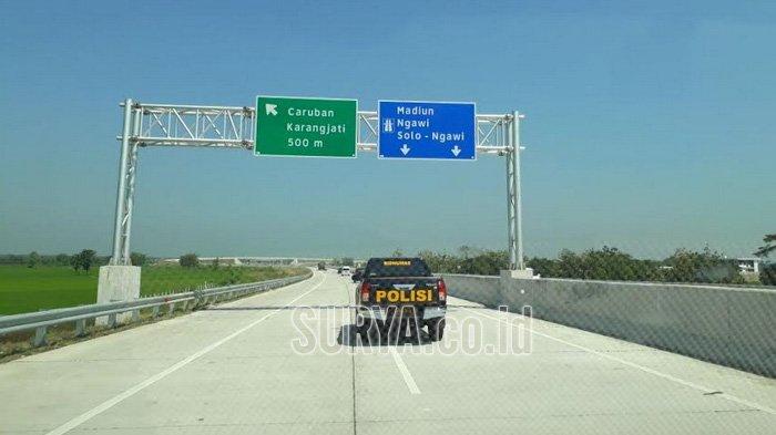 Jalan Tol Surabaya-Ngawi Sudah Bisa Difungsikan Semua Saat Lebaran
