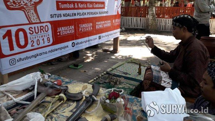 Setelah Dijamas, Keris dan Tombak Bung Karno Dipamerkan di Rumah Persada Sukarno
