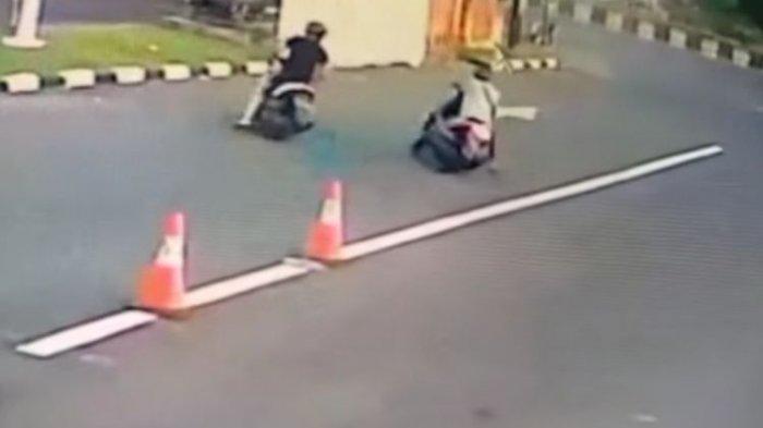 Turis Amerika Kejar Jambret Jatuh dari Motor, Setelah Video Viral, Pelaku Diganjar Timah Panas