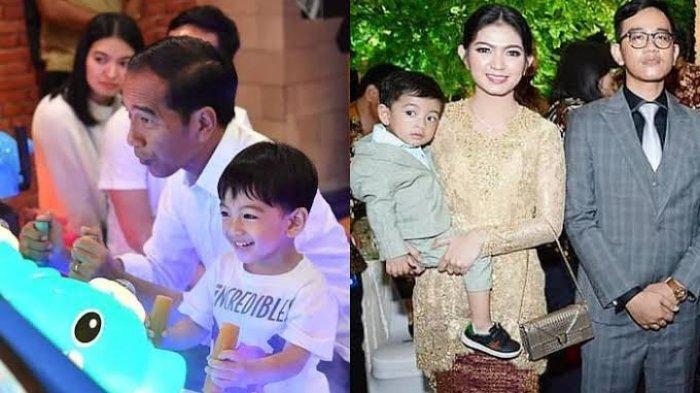Respon Cucu Pertama Presiden Jokowi, Jan Ethes Saat Namanya Dipanggil Cuma Bilang 1 Kata, Udah
