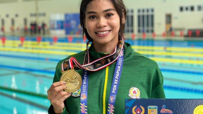 Janis Rosalita Suprianto ikut menyumbangkan medali emas bagi Jawa Timur di ajang PON XX Papua 2021.