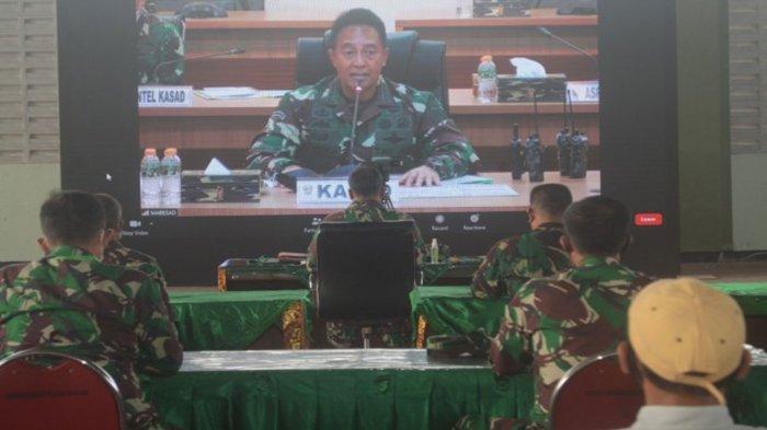 Janji Jenderal Andika Perkasa Tindak Tegas Penipu yang Tawari Masuk TNI AD, Lapor ke Nomor Hp ini