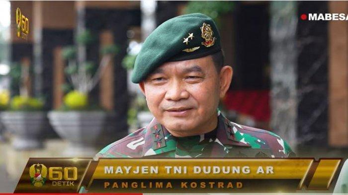 Janji Mayjen TNI Dudung Abdurachman Setelah Resmi Dilantik Jenderal Andika Perkasa Jadi Pangkostrad