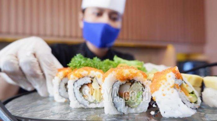 Incip Aneka Sushi di Wyndham Hotel Surabaya, California Roll Jadi Menu Favorit