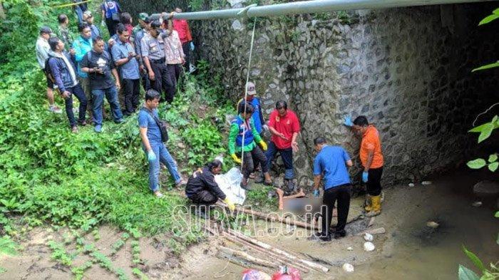 Anak SD yang Ditemukan Tewas di Bawah Jembatan Hutan Jati Kemlagi Mojokerto Diduga Dibunuh