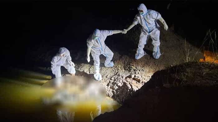 Kesadisan ABG Gresik, Kondisi Bernyawa AAH Dilempar ke Kubangan Bukit Jamur, Tangan dan Kaki Diikat