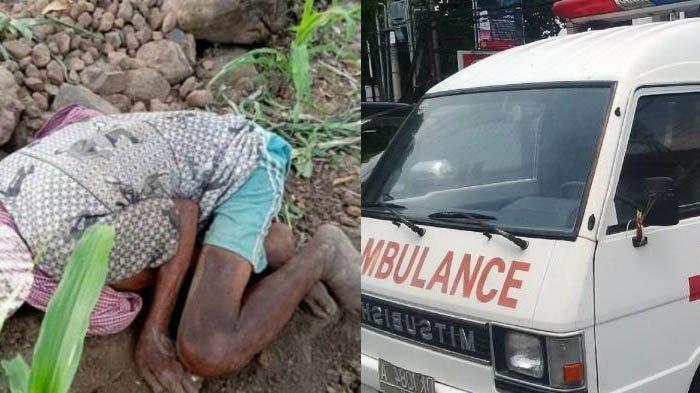 Jasad Kakek yang Diduga Tewas Kelaparan Dibopong dengan Sarung Sejauh 10 Km, Tak Dipinjami Ambulans