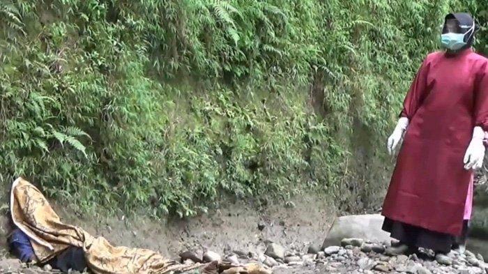 Mengharukan, Jasad Warga Magetan Ditemukan Bersandar di Dasar Sungai. Sudah Tiga Hari Menghilang
