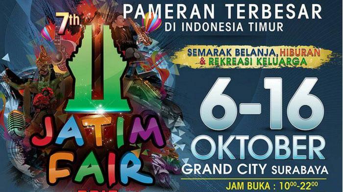 Ada 600 Stan di Jatim Fair 2016, Targetkan Omzet Rp 55 Miliar