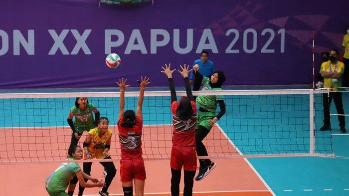 Jadwal Voli Indoor PON XX Papua 2021 - Jatim Diminta Percaya Diri Lwan Jabar
