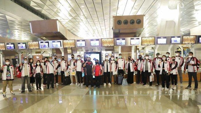 Jelang Olimpiade Tokyo 2020, Tim Bulutangkis Indonesia Latihan di Kamar Hotel Selama Isolasi
