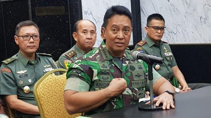 Pernyataan Tegas Jenderal Andika Perkasa untuk Orangtua Calon Tamtama TNI AD, KASAD: Catat Ya
