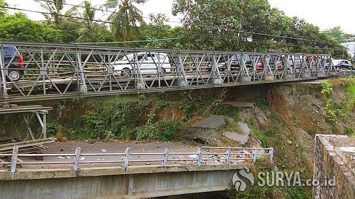 Pembahasan Perbaikan Jembatan Jeli yang Putus Pada 2017 Menunggu Bupati Kediri Baru Dilantik