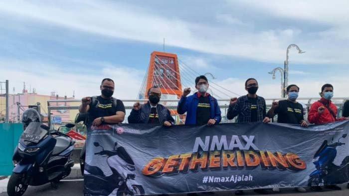 Jembatan Sawunggaling Surabaya Jadi Saksi Ketangguhan All New NMAX Connected