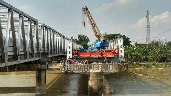 Pengerjaan Jembatan Widang-Babat Libatkan 100 Pekerja, Target Selesai Sebelum Lebaran