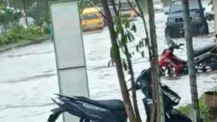 Hujan Deras Sebabkan Sejumlah Tempat di Jember Banjir Genangan