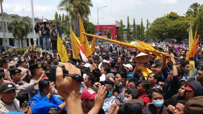 Terkait Demo Mahasiswa hingga 2 Orang Pingsan, Kapolres Jember: Pengamanan Sudah Sesuai SOP