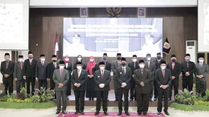 676 Jabatan Struktural di Lingkungan Pemkab Jember Terisi Pejabat Definitif