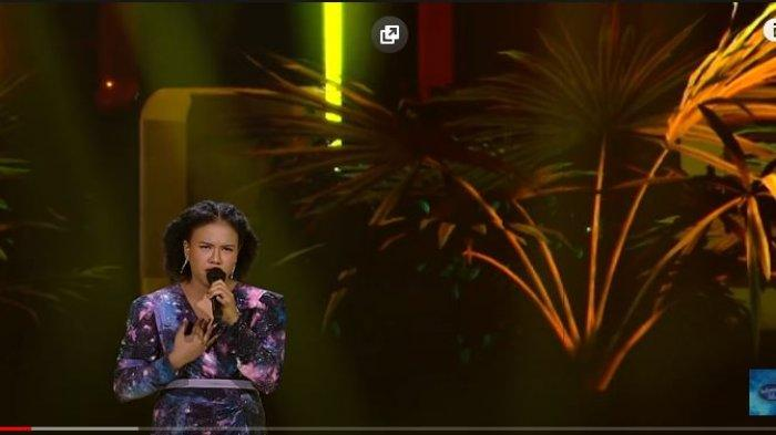 Reaksi Jemimah Cita Indonesian Idol 2021 Tahu Demam Tagar #JemimahChallenge Viral di TikTok
