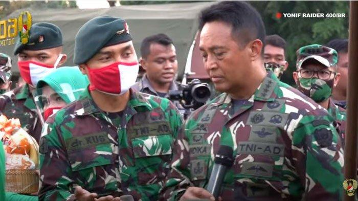 Jenderal Andika Perkasa Bikin Haru, Batal Berangkatkan Prajurit karena Anaknya Berkebutuhan Khusus