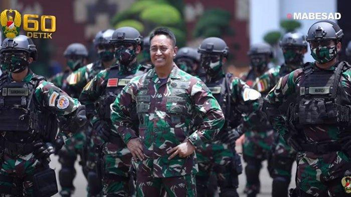 Jenderal Andika Perkasa melepas keberangkatan 125 prajurit TNI AD untuk latihan perang dengan US Army