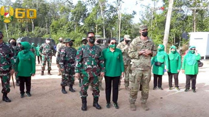 Jenderal Andika Perkasa Pelajari RS Lapangan dan Persenjataan Amerika, Ada Peluncur Roket Himars