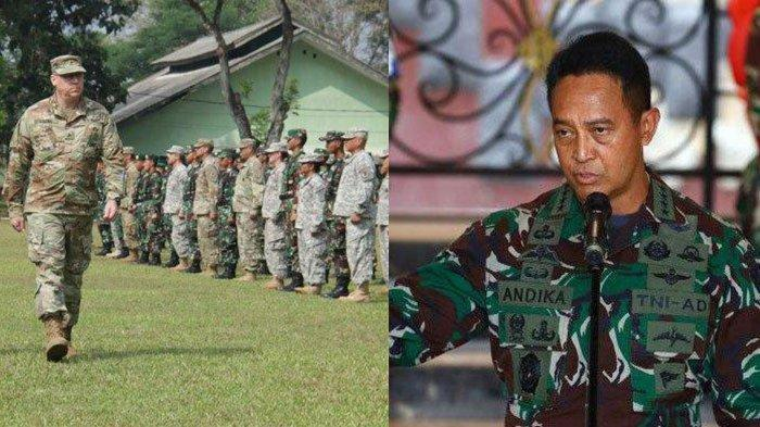 Jenderal Andika Perkasa Siap Sambut 1300 US Army di Indonesia Bulan Februari, ini Fakta Terbarunya