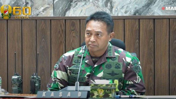 Jenderal Andika Perkasa Terima Laporan Garuda Shield: Amerika Tambah Pasukan dan Kerahkan Black Hawk