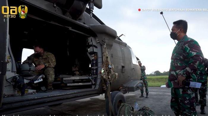 Jenderal Andika Perkasa Terkesan dengan Helikopter Black Hawk Amerika: Kami Harap Punya Salah Satu
