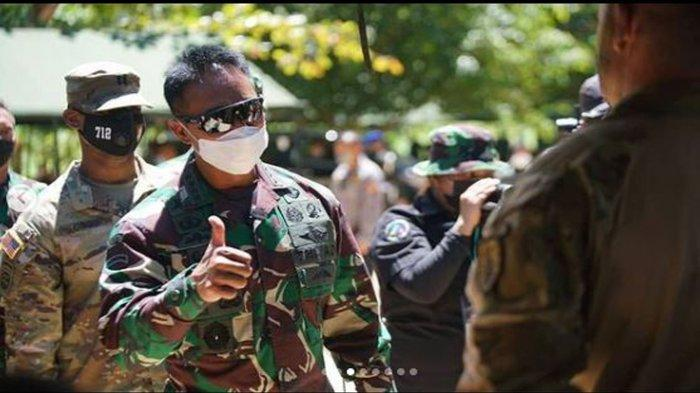 Jenderal Andika Perkasa Tinjau Garuda Shield TNI AD-US Army, ini yang Dirasakan Para Prajurit