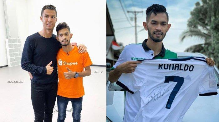 Fakta Martunis Lelang Jersey Cristiano Ronaldo Rp 180 Juta, Niat Mulia di Baliknya & Sosok Pemenang