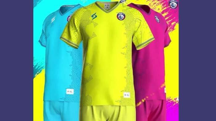 Jersey Kiper Arema FC Dilaunching, Jersey Pemain Tunggu Sponsor, ini Makna Tema Land Of The Fighters