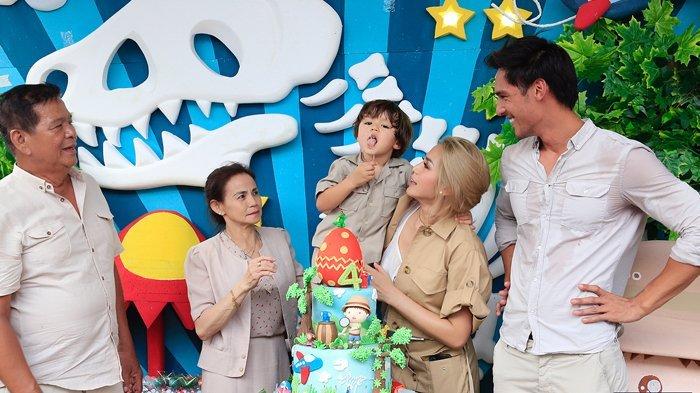 Harga Baju Jessica Iskandar Saat Pesta Ulang Tahun Putranya Bikin Melongo